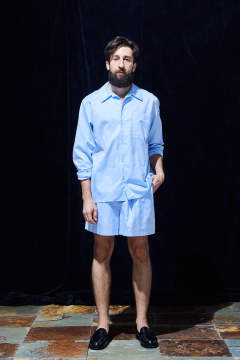 fine cotton pajama shirt 20ss