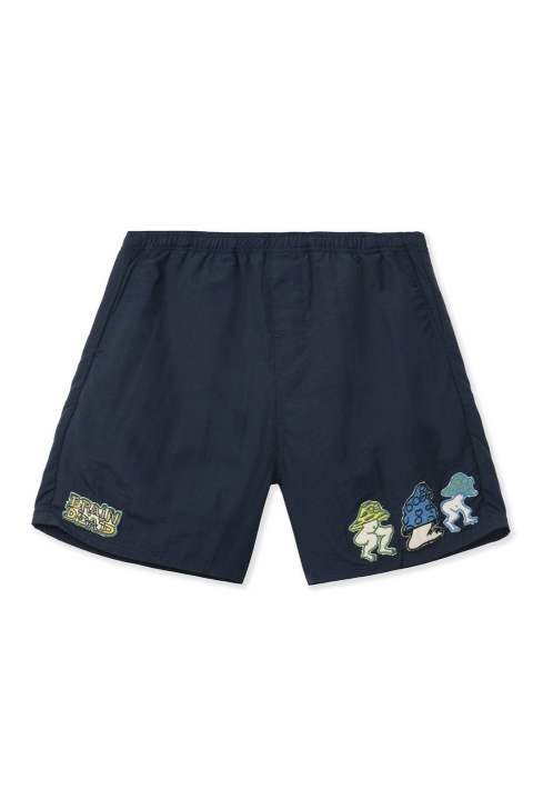 ushroom patch nylon beach shorts 20ss